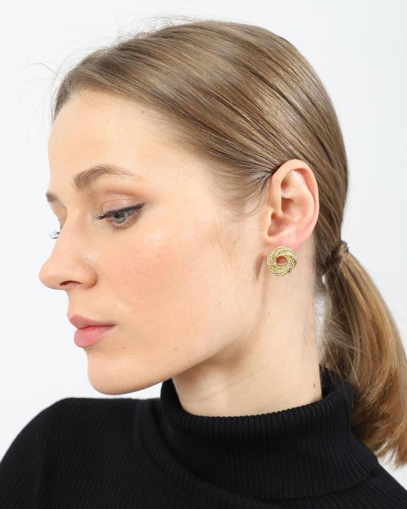 Golden ohrringe