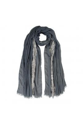 Blue foulard