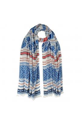 Multi-color foulard