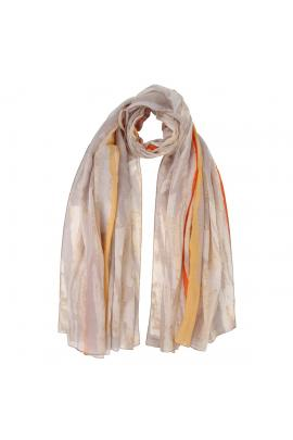 Multi-color foulard