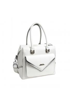 White handbag bag