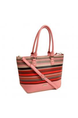 Pink handbag bag