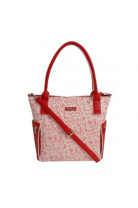 Red handbag bag