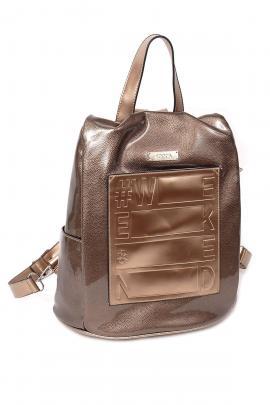 Bronze backpack