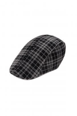 Grey men's beret