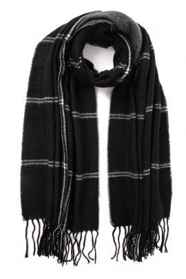 Black men's scarf
