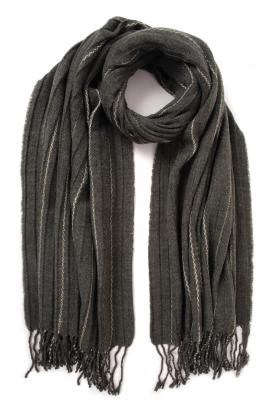 Khaki men's scarf