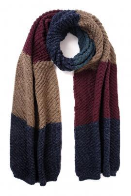 Multicolor men's scarf