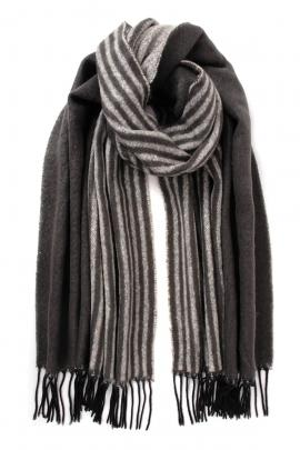 Grey men's scarf