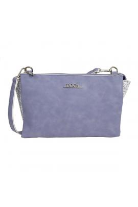 Purple cross body bag