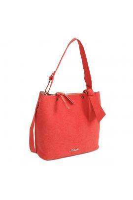 Coral handbag