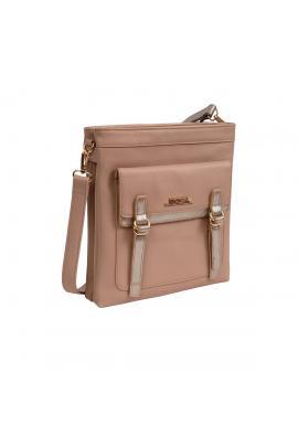 Brown cross bady bag